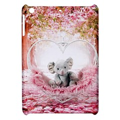 Elephant Heart Plush Vertical Toy Apple Ipad Mini Hardshell Case