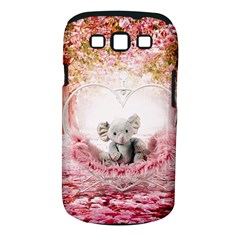 Elephant Heart Plush Vertical Toy Samsung Galaxy S Iii Classic Hardshell Case (pc+silicone)