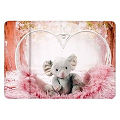 Elephant Heart Plush Vertical Toy Samsung Galaxy Tab 8 9  P7300 Flip Case