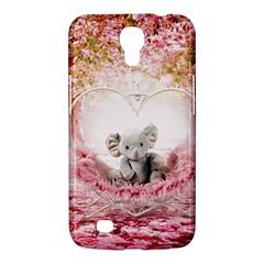 Elephant Heart Plush Vertical Toy Samsung Galaxy Mega 6 3  I9200 Hardshell Case