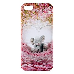 Elephant Heart Plush Vertical Toy Iphone 5s/ Se Premium Hardshell Case