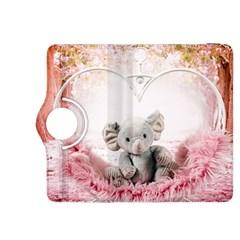 Elephant Heart Plush Vertical Toy Kindle Fire Hdx 8 9  Flip 360 Case