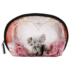 Elephant Heart Plush Vertical Toy Accessory Pouches (large)