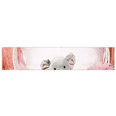 Elephant Heart Plush Vertical Toy Flano Scarf (small)