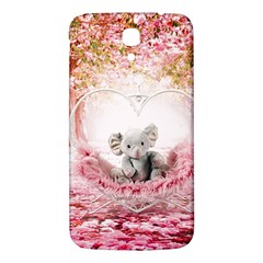 Elephant Heart Plush Vertical Toy Samsung Galaxy Mega I9200 Hardshell Back Case