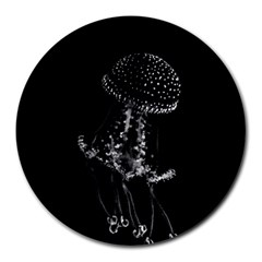 Jellyfish Underwater Sea Nature Round Mousepads