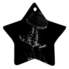 Jellyfish Underwater Sea Nature Ornament (star)
