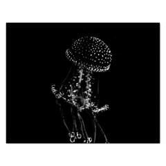 Jellyfish Underwater Sea Nature Rectangular Jigsaw Puzzl