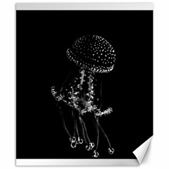 Jellyfish Underwater Sea Nature Canvas 8  X 10