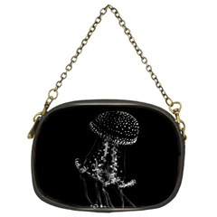 Jellyfish Underwater Sea Nature Chain Purses (two Sides)