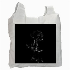Jellyfish Underwater Sea Nature Recycle Bag (one Side)