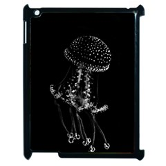 Jellyfish Underwater Sea Nature Apple Ipad 2 Case (black)