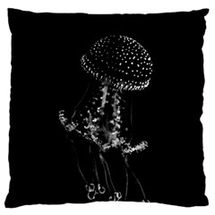 Jellyfish Underwater Sea Nature Large Cushion Case (two Sides)