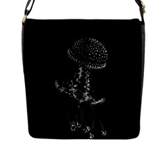 Jellyfish Underwater Sea Nature Flap Messenger Bag (l)