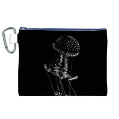 Jellyfish Underwater Sea Nature Canvas Cosmetic Bag (xl)