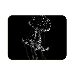 Jellyfish Underwater Sea Nature Double Sided Flano Blanket (mini)
