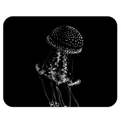 Jellyfish Underwater Sea Nature Double Sided Flano Blanket (medium)