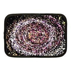 Mosaic Colorful Abstract Circular Netbook Case (medium)