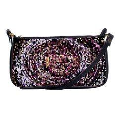 Mosaic Colorful Abstract Circular Shoulder Clutch Bags