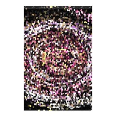 Mosaic Colorful Abstract Circular Shower Curtain 48  x 72  (Small)