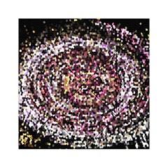 Mosaic Colorful Abstract Circular Acrylic Tangram Puzzle (6  X 6 )