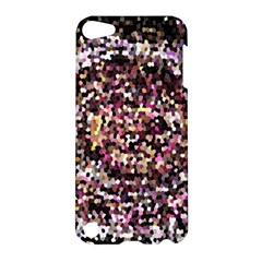 Mosaic Colorful Abstract Circular Apple Ipod Touch 5 Hardshell Case