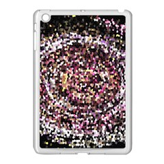 Mosaic Colorful Abstract Circular Apple Ipad Mini Case (white)