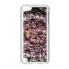 Mosaic Colorful Abstract Circular Apple Ipod Touch 5 Case (white)