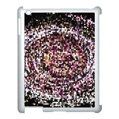 Mosaic Colorful Abstract Circular Apple Ipad 3/4 Case (white)