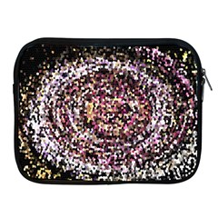 Mosaic Colorful Abstract Circular Apple Ipad 2/3/4 Zipper Cases