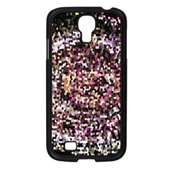 Mosaic Colorful Abstract Circular Samsung Galaxy S4 I9500/ I9505 Case (black)