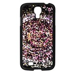 Mosaic Colorful Abstract Circular Samsung Galaxy S4 I9500/ I9505 Case (Black) Front