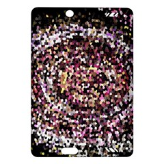 Mosaic Colorful Abstract Circular Amazon Kindle Fire Hd (2013) Hardshell Case