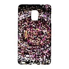 Mosaic Colorful Abstract Circular Galaxy Note Edge