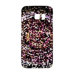 Mosaic Colorful Abstract Circular Galaxy S6 Edge