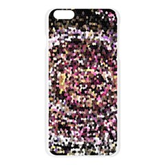 Mosaic Colorful Abstract Circular Apple Seamless iPhone 6 Plus/6S Plus Case (Transparent)