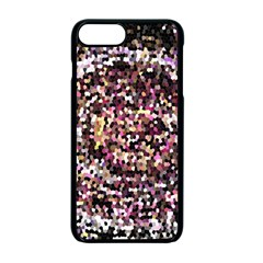 Mosaic Colorful Abstract Circular Apple Iphone 7 Plus Seamless Case (black)