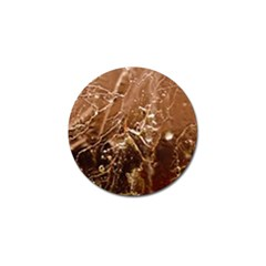 Ice Iced Structure Frozen Frost Golf Ball Marker (4 Pack)