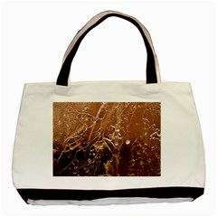 Ice Iced Structure Frozen Frost Basic Tote Bag
