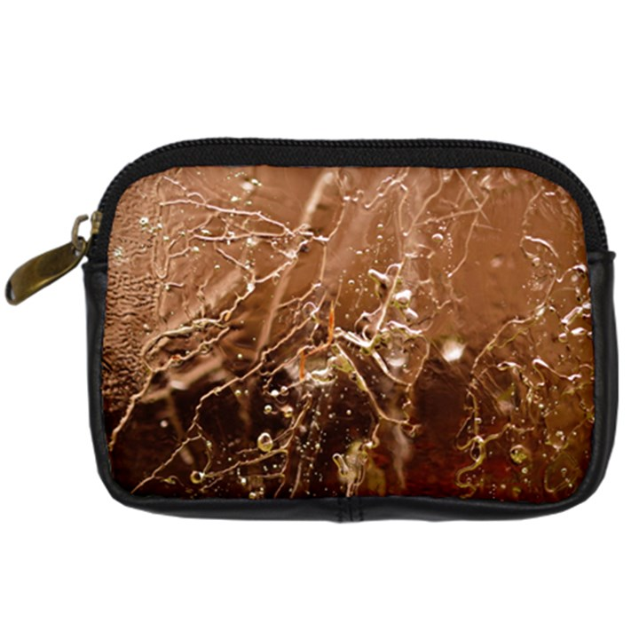 Ice Iced Structure Frozen Frost Digital Camera Cases