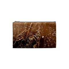 Ice Iced Structure Frozen Frost Cosmetic Bag (small)