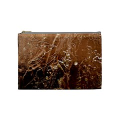 Ice Iced Structure Frozen Frost Cosmetic Bag (medium)