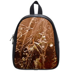 Ice Iced Structure Frozen Frost School Bags (small)