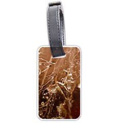 Ice Iced Structure Frozen Frost Luggage Tags (One Side)