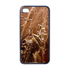 Ice Iced Structure Frozen Frost Apple Iphone 4 Case (black)