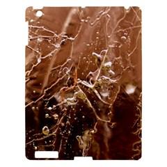 Ice Iced Structure Frozen Frost Apple Ipad 3/4 Hardshell Case