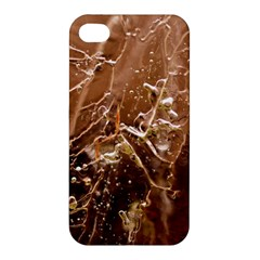 Ice Iced Structure Frozen Frost Apple Iphone 4/4s Premium Hardshell Case
