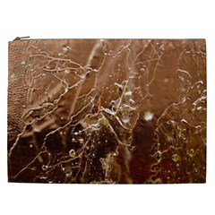 Ice Iced Structure Frozen Frost Cosmetic Bag (xxl)