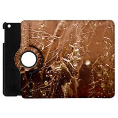 Ice Iced Structure Frozen Frost Apple iPad Mini Flip 360 Case