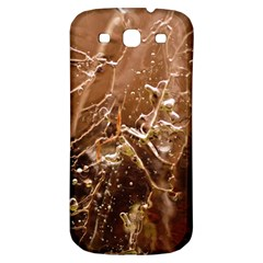 Ice Iced Structure Frozen Frost Samsung Galaxy S3 S Iii Classic Hardshell Back Case